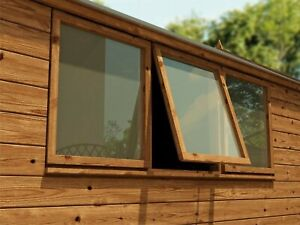 Garden Shed Window 3mm Clear Acrylic Perspex Plastic Sheet 2ft Square