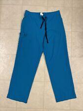 Wonder Wink Blue Women's Scrub Pants Bottoms Size Large