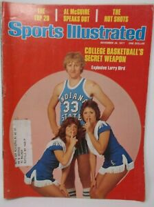 Sports Illustrated November 28 1977 LARRY BIRD First Cover