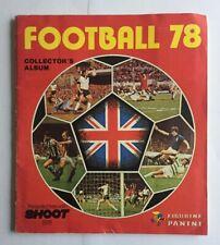 Panini Football 78 / 1978 Complete VGC