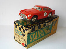 SCALEXTRIC C68 / E3 ASTON MARTIN GT RED WITHOUT LIGHTS BOXED  (WM150)