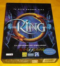 RING (La Leggenda dei Nibelunghi) Pc Versione Italiana 1ª Ed Big Box ○○ COMPLETO