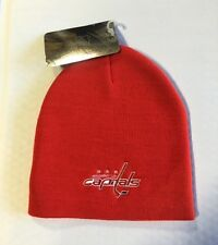 Washington Capitals Knit Beanie Toque Winter Hat Skull Cap NEW NHL Red