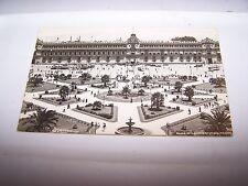 Vintage RPPC Postcard PLAZA DE LA CONSTITUCION Mexico #745