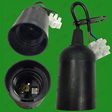 Edison A Vite ES E27 Lampadina Lampada titolare socket con blocco morsetto M10 Filettatura