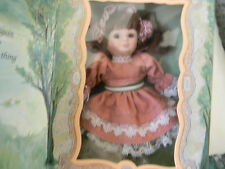 Marie Osmond Greeting Card Doll- 1997 porcelain- limited edition Nrfb- Htf