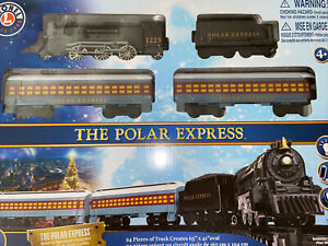 Lionel 7-11925 The Polar Express Battery Operated Train Set 28 Pieces 2020 NIB