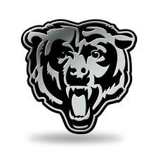 Chicago Bears Plastic Chrome 3D Emblem Automotive Car Truck Vehicle Nwt Football