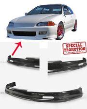 For Honda Civic EG Hatchback 92-95 Mugen Front Bumper Lip Wing Carbon Fiber