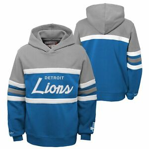 Mitchell & Ness NFL Football Youth (8-20) Detroit Lions Head Coach Hoodie