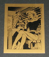 Golden Apple 10th Anniversary The Maze Agency Collector's Card #7 - Flat Ship *2