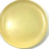 "Shungyo Japan Stoneware Platter Chop Plate 12"" Avocado Green Speckled MCM"