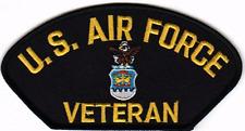 """P-  U.S. Air Force Veteran- 5 1/4"""" x 2 3/4"""""""