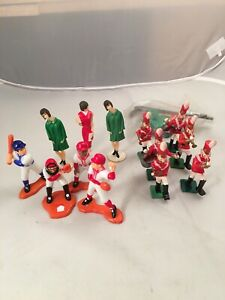Lot Of Cake Toppers Fashion Models Band Players Bakery Craft Baseball Players