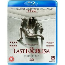 THE LAST EXORCISM*****BLU-RAY*****REGION B*****NEW & SEALED