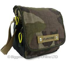 NEW Mens CAMOUFLAGE SMALL CROSS BODY Messenger BAG OBSESSED CAMO Travel Holiday