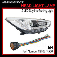 LED OEM Projection Day Light Head Light Lamp (RH) for 2012-2014 Hyundai ACCENT