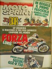 Motosprint 36 1990 Gp Ungheria Loris Capirossi - Test Suzuki GSX-R 750