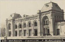 COLOMBIA MEDELLIN ESTACION F. DE ANTIOQUIA E52 REAL PHOTO FOT. OBANDO