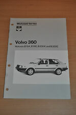 Werkstatt-Service BOSCH Dienst VOLVO 360 B19A B19E B200K B200E Stand 08/ 1985