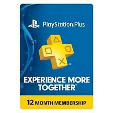 Ps Plus 12 MONTH PSN PLUS - 365 DAYS PLUS