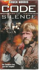 Code of Silence (VHS, 2002) NEW FACTORY SEALED CHUCK NORRIS MARTIAL ARTS NOS NIP