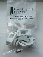 Harrison Drape Track Brackets Pack 5 new