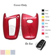 Paint Metallic Color Shell Cover fit for HYUNDAI ix45 Santa Fe Smart Key 3BTN RD