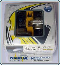 H4 potere Narva Gamma Bianco dei fari lampadine (coppia)