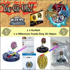 YUGIOH HEROCLIX BATTLE OF THE MILLENNIUM OP KIT THREE - Kuriboh + Ring 3D