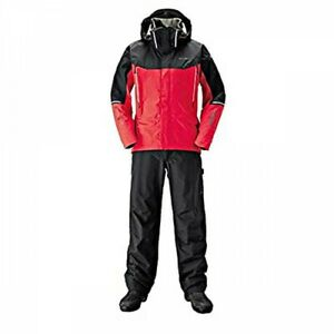 SHIMANO RA-025S DS Advance Fishing Suit Detachable Hood Red FastShip Japan EMS