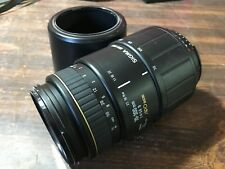 Sigma 70-300mm D DL 1:4-5.6 Macro Super For Canon Tested Working
