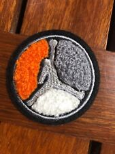 MICHAEL JORDAN JUMP MAN TRICOLOR CHENILLE EMBROIDERED APPLIQUE SEW ON PATCH 2""