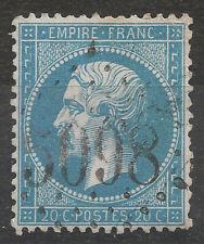 NAPOLÉON N°22, BFE, GC 5098 Smyrne, TB