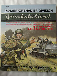 Panzer Grenadier Division Grossdeutschland - A Pictorial History with Text & Map