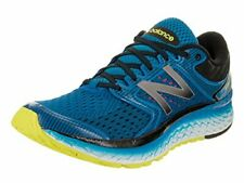 New Balance Men's Running Shoe, Electric Blue/Hi Lite, 10.5 D US, M1080BY7