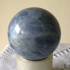 More details for vintage stone crystal calcite sphere ball - cleaning healing energy spiritual 3!