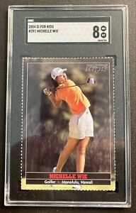 Michelle Wie 2004 Sports Illustrated For Kids SI Kids RC #391 SGC 8 NM/MT