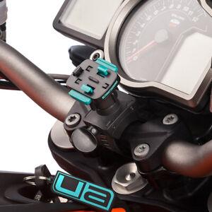 Ultimate Addons Motorcycle Handlebar Swivel Helix Strap 21-40mm 17mm Ball Mount