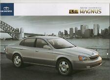 GM Daewoo L6 Magnus car (made in Korea) _2005 Prospekt / Brochure