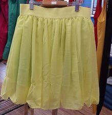 ladies yellow skirt