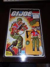 Vintage GI Joe 1985 Bazooka V.1 100% Complete w/ Uncut Full Card Back read**