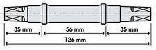 Perno Movimento Centrale Quadro JIS 126mm/PIVOT BRACKET 126MM JIS