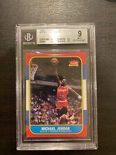 1986 Fleer Michael Jordan Rookie RC #57 BGS 9 Mint🔥 0.5 Away From 9.5 Gem Mint