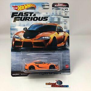Toyota GR Supra * Hot Wheels Fast & Furious FAST SUPERSTARS * IN STOCK