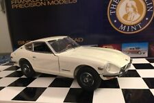 "Franklin Mint 1970 Datsun 240Z White Limited Edition #1742 Of 2500 ""New"" 1/24"