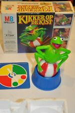 """70er Jahre Spiel """"Kikker op de kist"""" Kermit Muppets Sesamstrasse MB"""