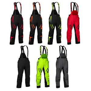 Mens Castle X Fuel G7 Snowmobile Pants Winter Bibs Snow Waterproof Windproof