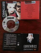 EURYTHMICS  - MINICD GREATEST HITS LIVE FLASH - ALLEGATO RIV.MAX ANNI 90 - RARO!