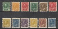 Y4616/ CANADA – 1911 / 1931 MINT MH SEMI MODERN LOT – CV 240 $
